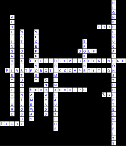 Issue 18 Crossword Solution