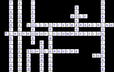 Issue 15 Crossword Solution