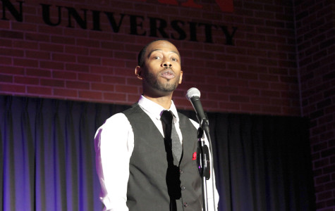 Spoken word artist speaks from heart