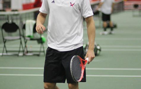 Men's tennis turns corner after weekend loss
