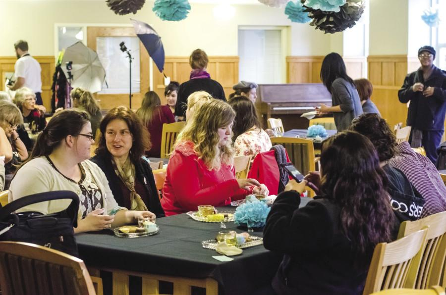 The Home Childcare tea event welcomed a packed house. Photo by Dylan Paulus