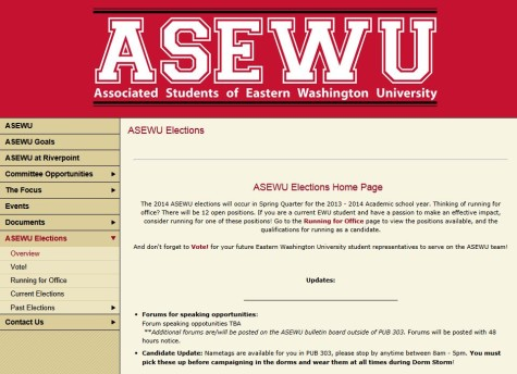 ASEWU Student Government Candidates 2013