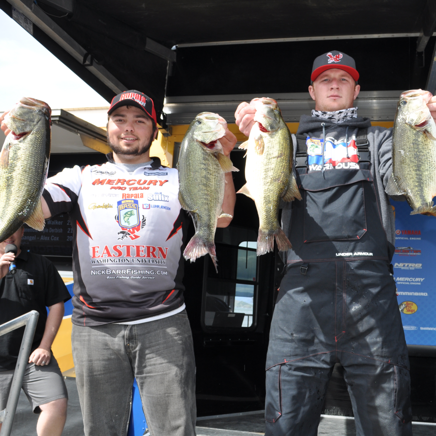 Fishing duo reels in national championship invite