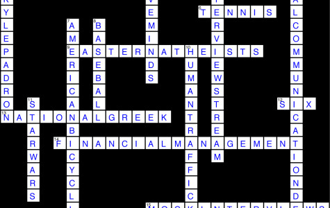Issue 21 Crossword Solution