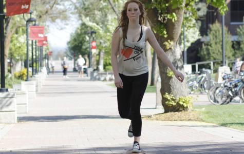 Students ride despite campus transportation rules
