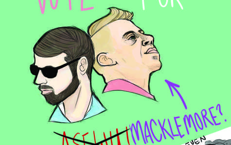 Editorial cartoon: vote for Macklemore