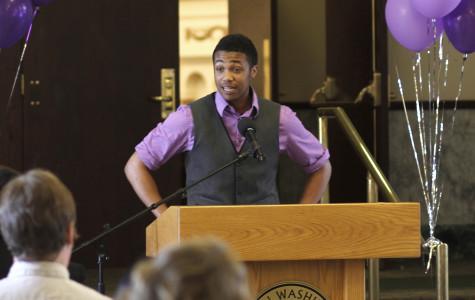 Lavender graduates celebrate