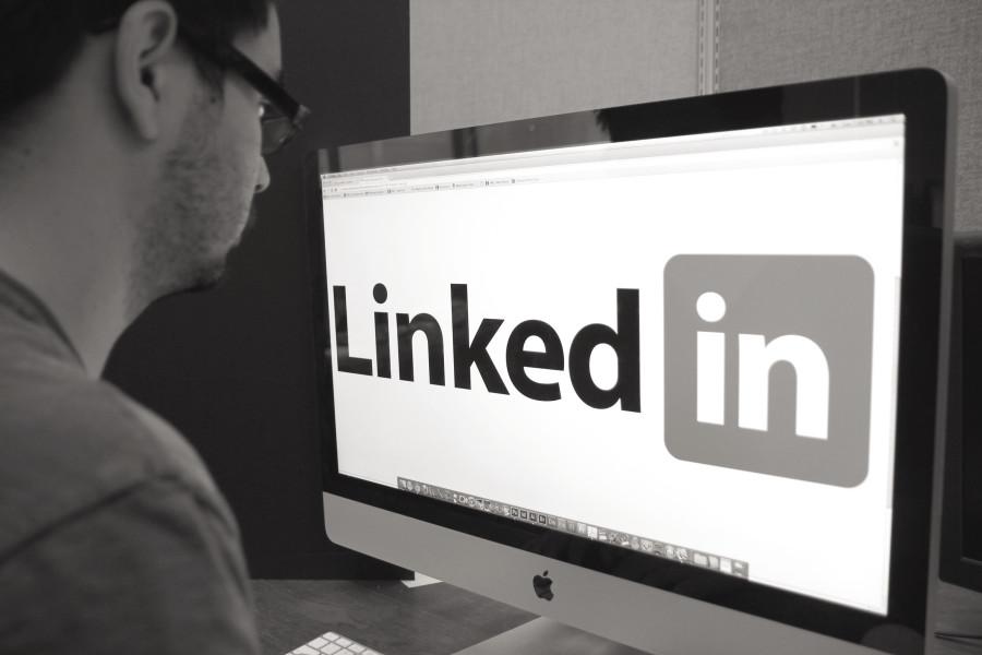 Carefully crafted LinkedIn profile showcases ambition