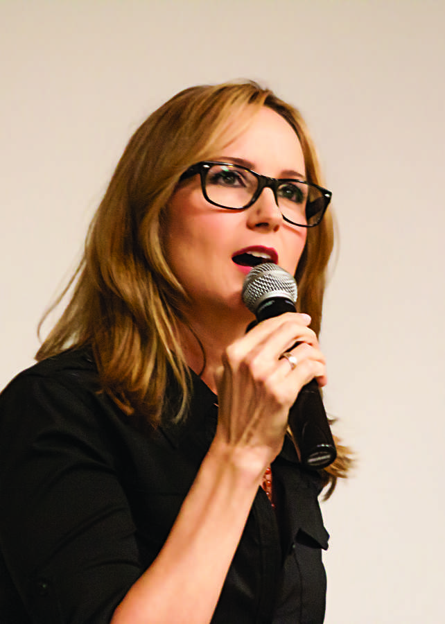 Chely Wright talks about her experience coming out in the public eye. Photo credit Sam Sargeant