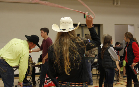 The EWU Rodeo Team shows off some of their skills. Photo Credit Laura Ueckert Jones