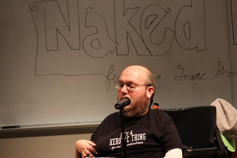 Writers exposed at 'Naked Lunch Break'