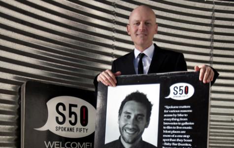 Alumnus creates portraits of inspiring Spokane locals