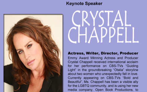 Emmy-winning actress to speak at Lavender Graduation