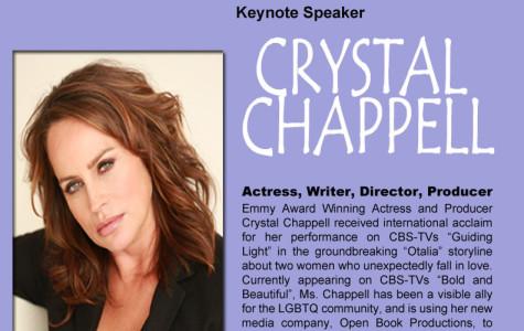Emmy-winning actress to speak at Lavender Graduation