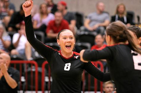 Volleyball Eags look to end losing streak