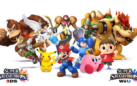 Super Smash Bros. can be played handheld on Nintendo 3DS or on Wii U.