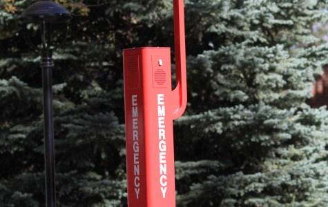 Code Blue Lights emergency station