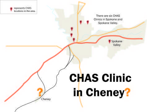 Prospective clinic planned for Cheney