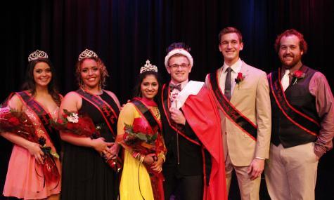 Left to right: Madison Azim; Michaela Morse; Sapna Basy, Ms. Eastern; Bryce Dressler, Mr. Eastern; John-Henry Woodward; Kyle Hamlin.