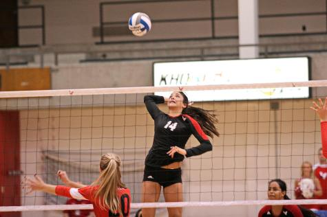 Eagles volleyball competes on the road against Big Sky