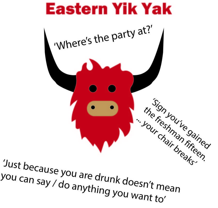 Yik Yak app gaining popularity at Eastern