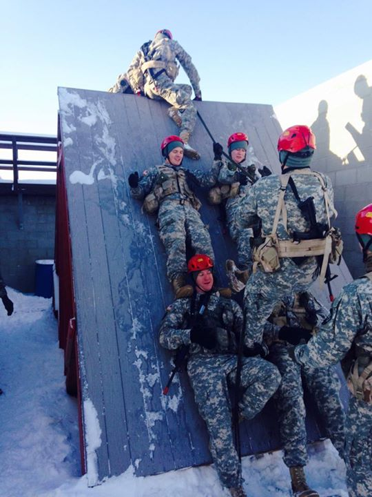 Eastern's ROTC at the Ranger Challenge.
