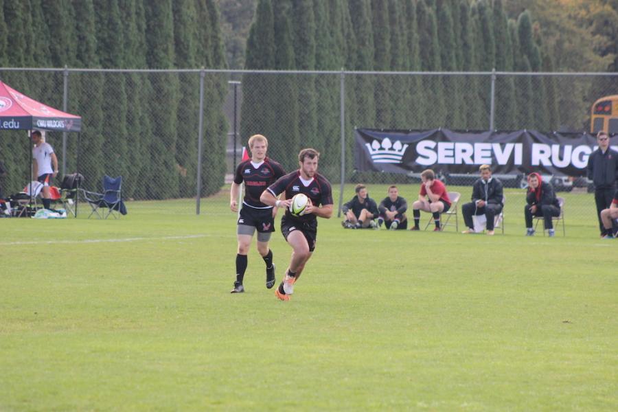 Mens rugby battling UW on Nov. 15