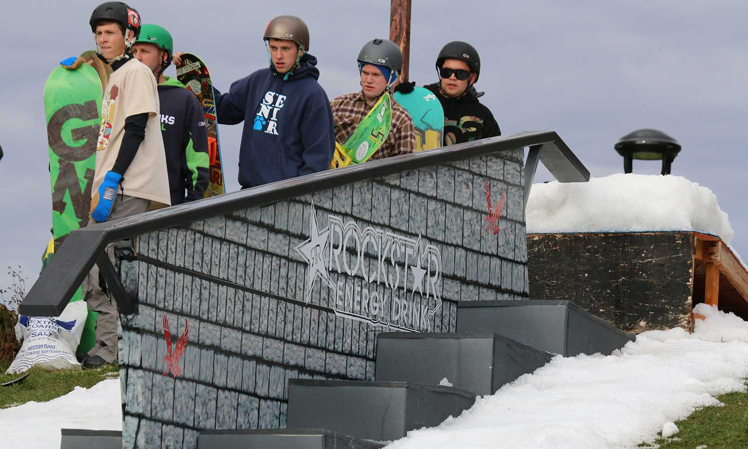 The Easterner : Eastern shreds at annual Rail Jam