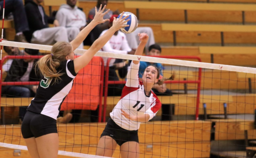 Eagles volleyball celebrates seniors despite at-home setbacks