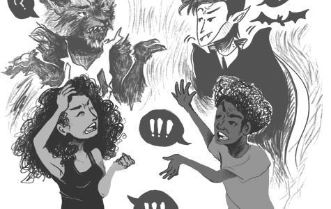 Vampires vs. Werewolves: Monsters efficiency in killing