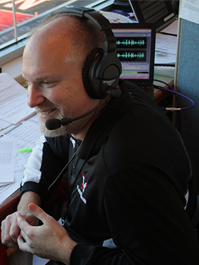 Larry Weir, 2014 Broadcaster of the Year