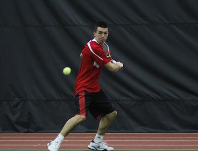 Men's tennis dominates local matches