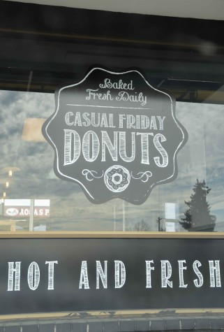 Doughnut shop crafts sweet snacks