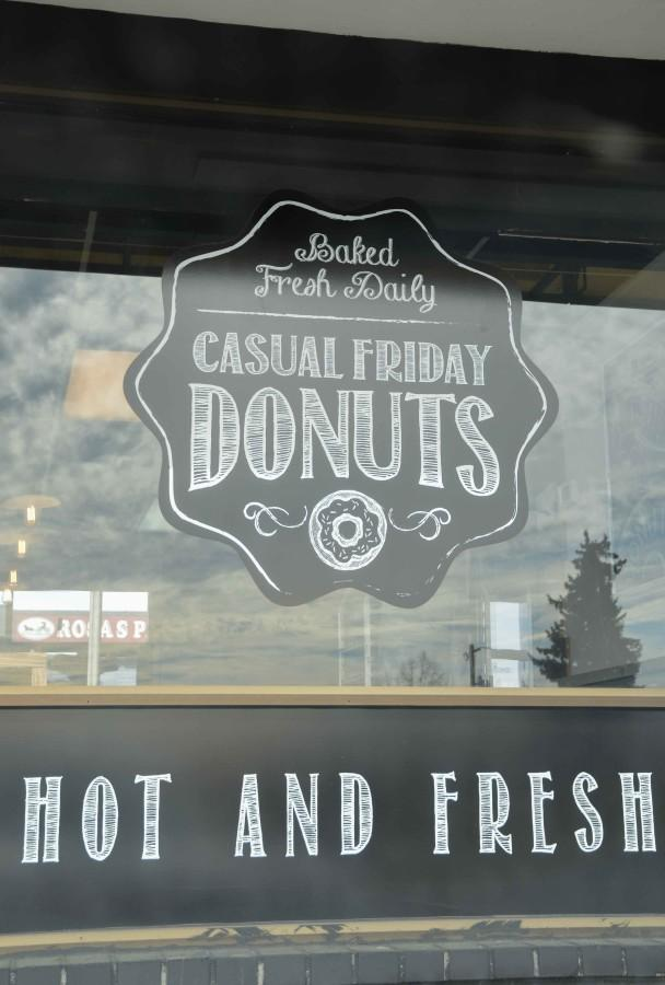 Casual Friday Donuts is located at 3402 N. Division Street in Spokane.