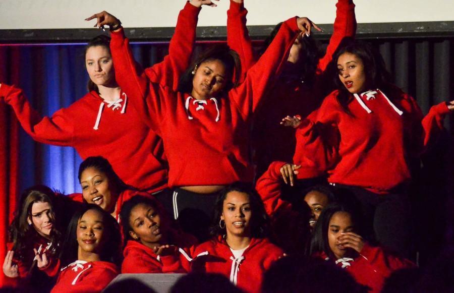 EWU's dance team