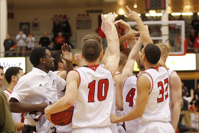 Men's basketball success beams bright future for program