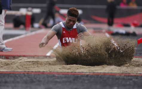 Windy conditions not a set back for EWU Track and Field