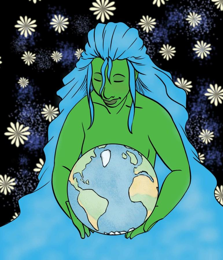 Earth Day is celebrated all over the world.