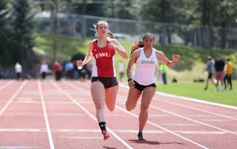 EWU Track and Field sets 14 qualifying marks over weekend