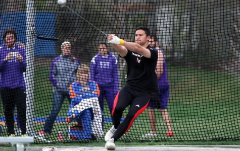 Eastern thrower looks to finish on top at home