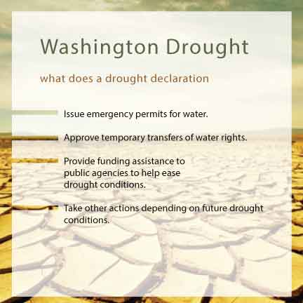 Were really starting to feel the pain from this snowpack drought. Impacts are already severe in several areas of the state. Jay Inslee, Washington state Governor