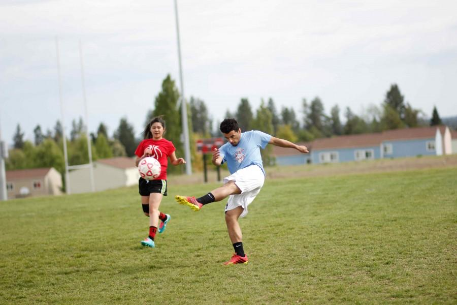 Various students at Eastern Washington University participated in the EWU World Cup soccer tournament on May 15.
