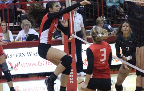 Eagles volleyball moves to 6-0 in conference