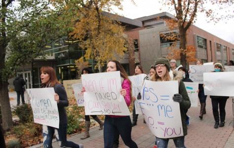 EWU clubs host anti-assault rally
