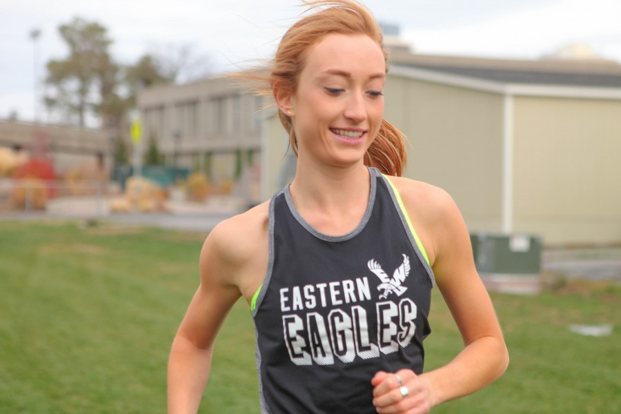 Sarah Reiter putting her training and endurance to the test.