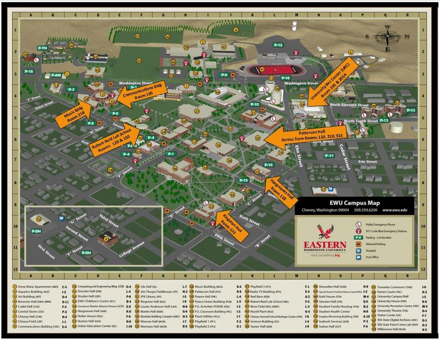 eastern washington university campus map Pride Center Provides Safe Space For Students The Easterner eastern washington university campus map