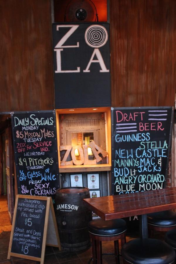 The Zola Bar