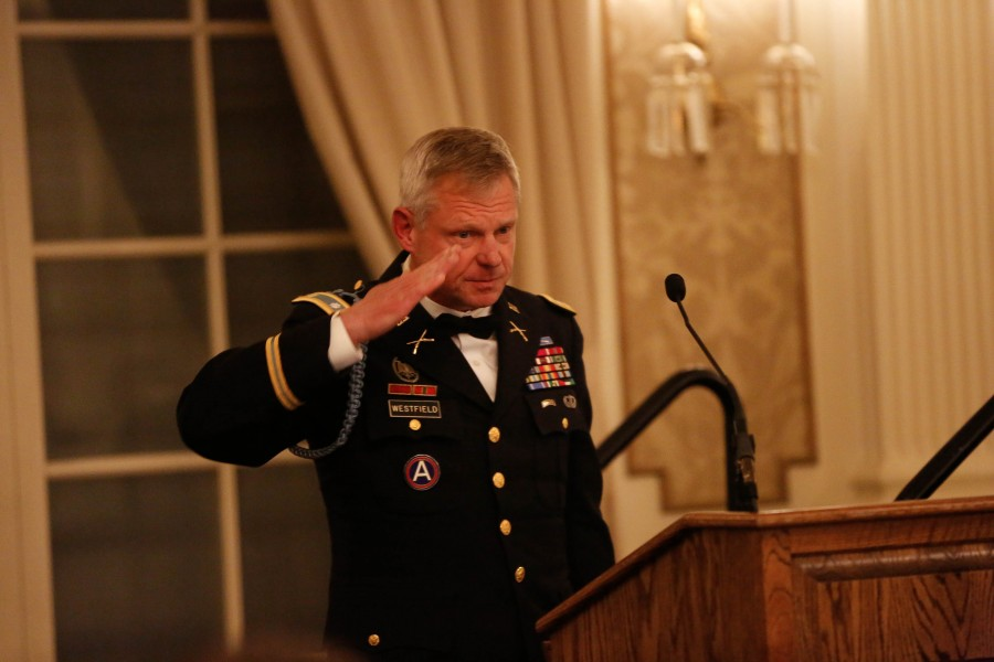 Dining Out event unifies ROTC