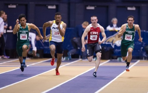 Men's track team collects awards in Bozeman