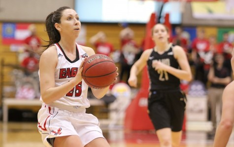 EWU women's basketball wins at home